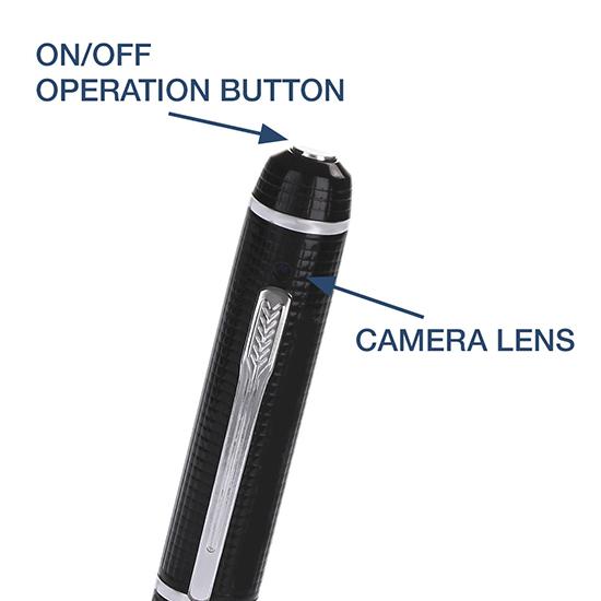 Bút Camera Bí Mật Ngụy Trang Full HD 1080P SRL-939