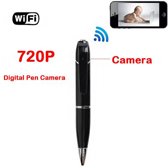 Bút Camera IP Ngụy Trang Quay Phim Ghi Âm RLC-107 Kết nối với smartphone qua wifi dễ dàng